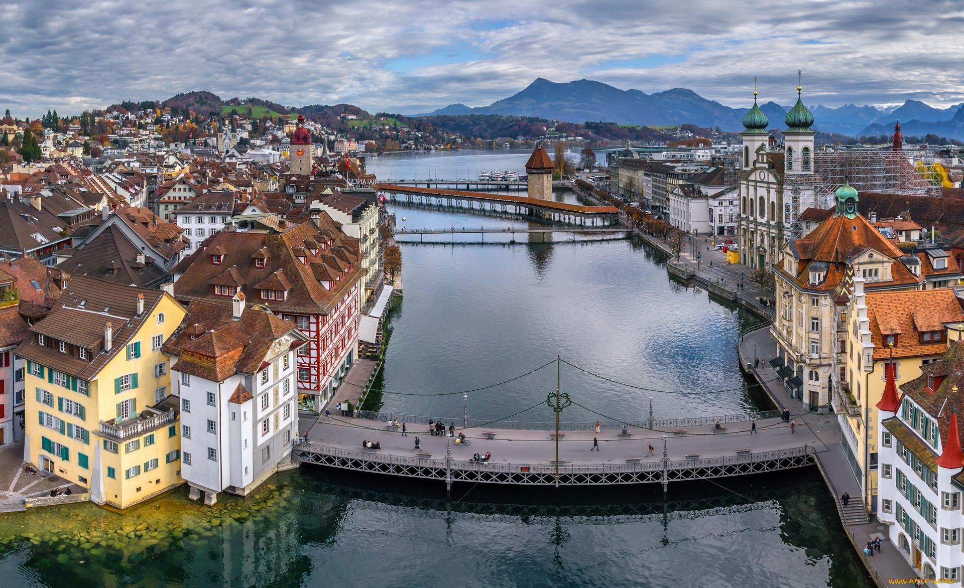 Обои люцерн, швейцария. Города foto 7